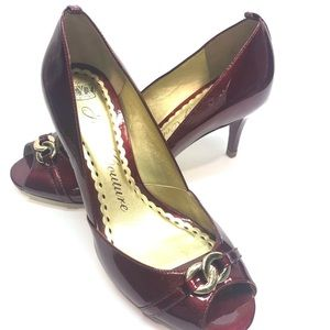 🎄Juicy Couture - 7M Red Pumps - Great Shape